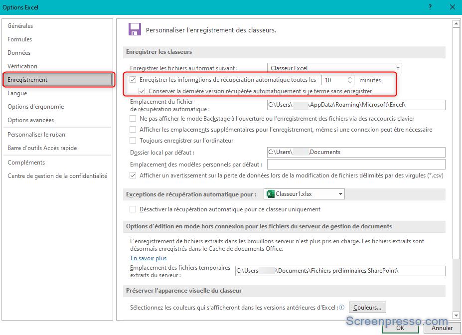 IMPOSSIBLE DE FERMER EXCEL QUE FAIRE - Enregistrement automatique sur Excel